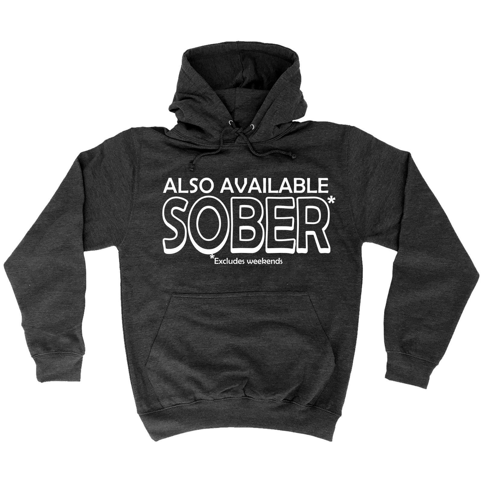48c5cf1905 123t USA Also Available Sober Excludes Weekends Funny Hoodie - 123t USA T- Shirts & Hoodies