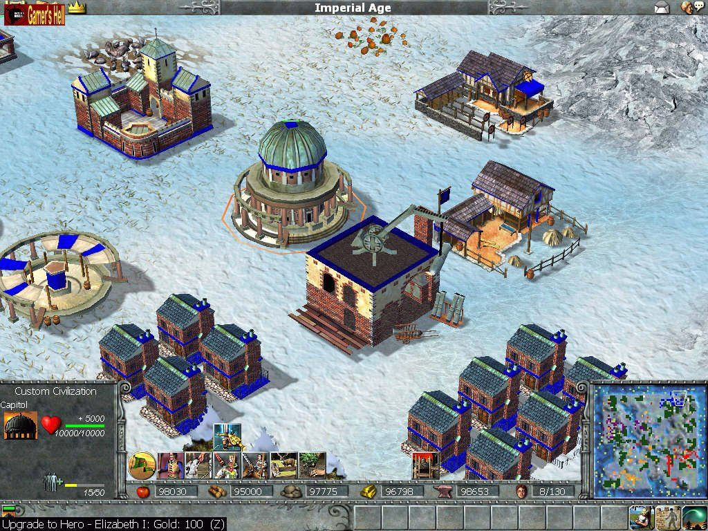 Empire Earth is a real time strategy game developed by