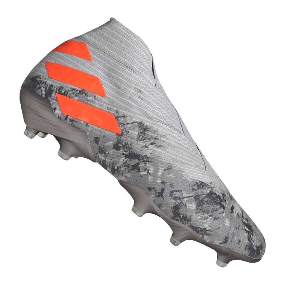 Buty Pilkarskie Adidas Nemeziz 19 Fg M Ef8280 Szare Szare Football Shoes Football Adidas