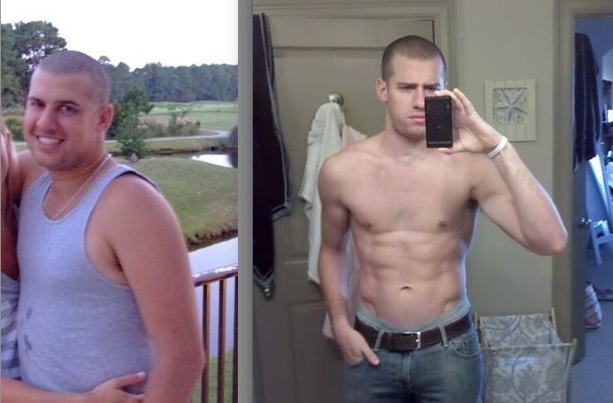 60 Lbs Overweight To 6 Pack Abs A Success Story Read His Story Here And See How He Did It Before And After Pics A Caveman Diet Paleo Athlete Paleo Lifestyle