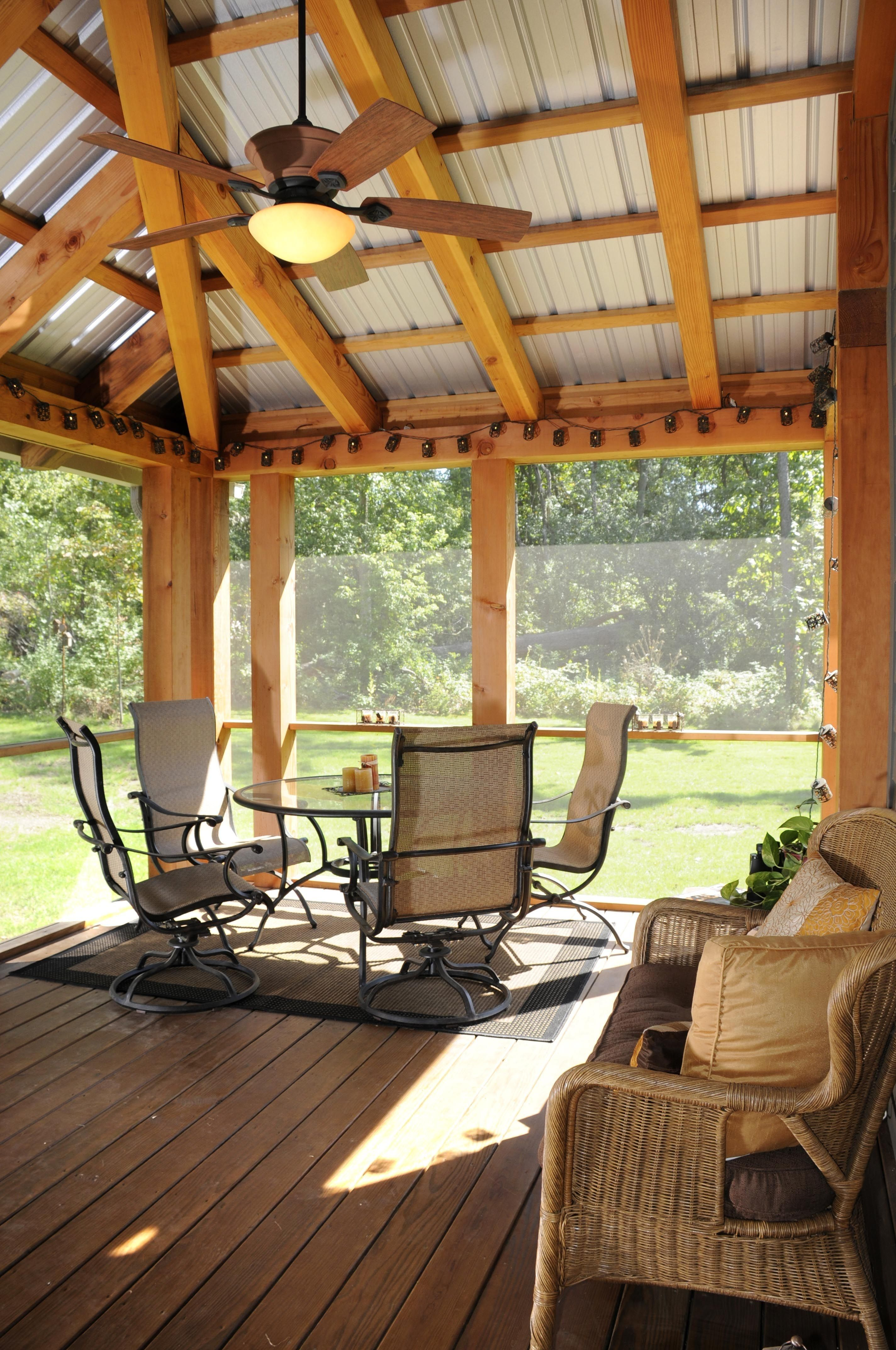 inspirational screened in porch roof vv041m2 https on steps in discovering the right covered deck ideas id=63424