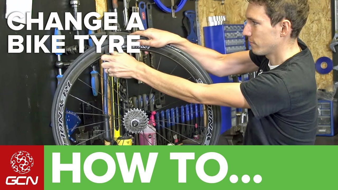 How To Change A Bike Tyre Youtube Bike Tire Bike Repair