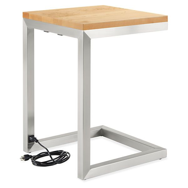 Portica C Table With Power And Usb Outlets End Tables Living