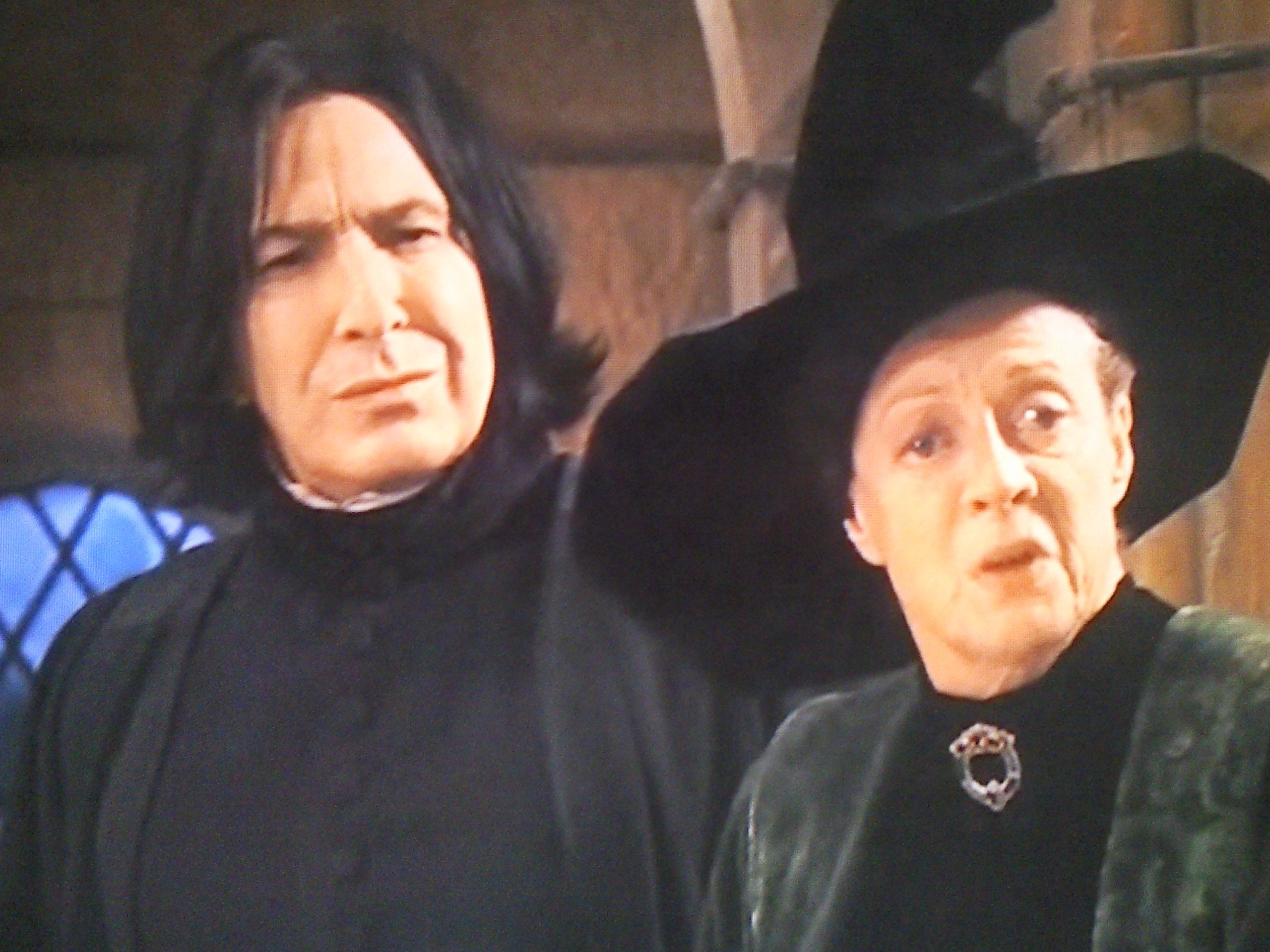 039e21152 Severus Snape and Minerva McGonagall literally the best picture on the  internet!!!