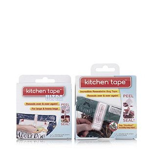 Kitchen Tape Set of 56  Reusable Adhesive Strips