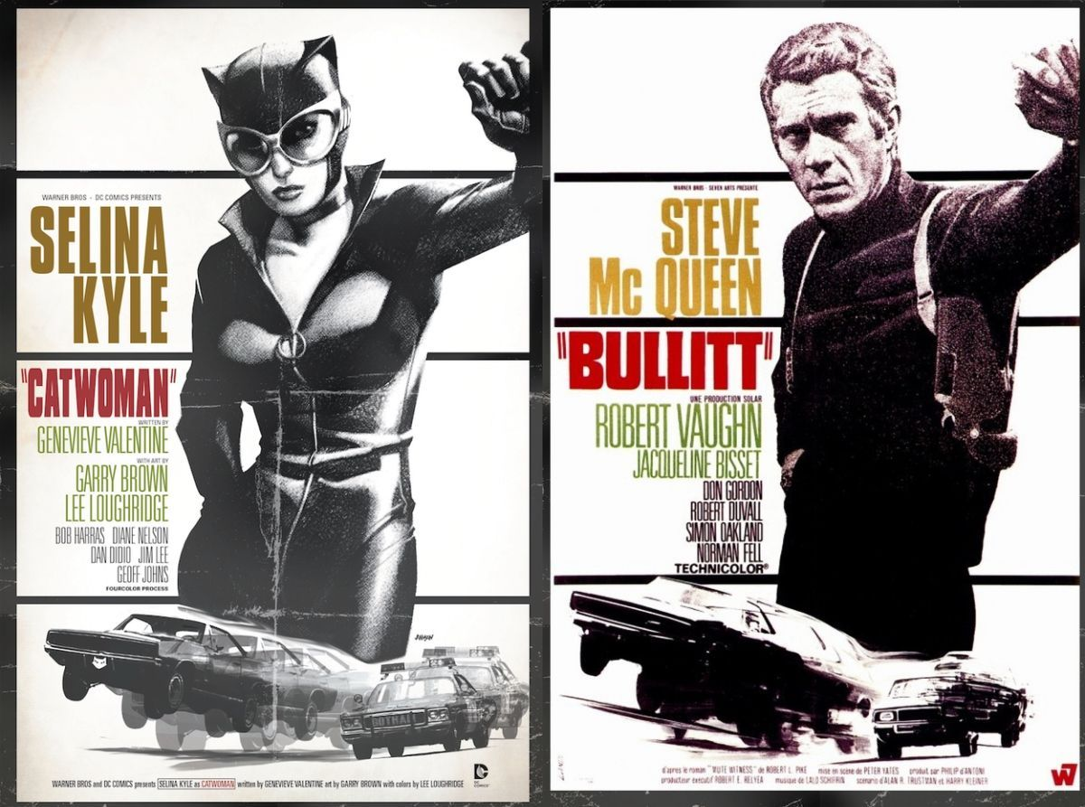 Catwoman-Comic-Bullitt-Movie-Cover