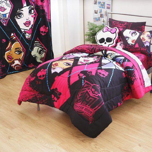 Monster High Blanket Bed Sheet Sets, Monster High Bedding Twin