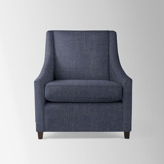 Sweep Armchair | west elm | Sweep armchair, Armchair ...