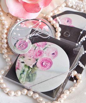 Handy Rose Pocket Mirror