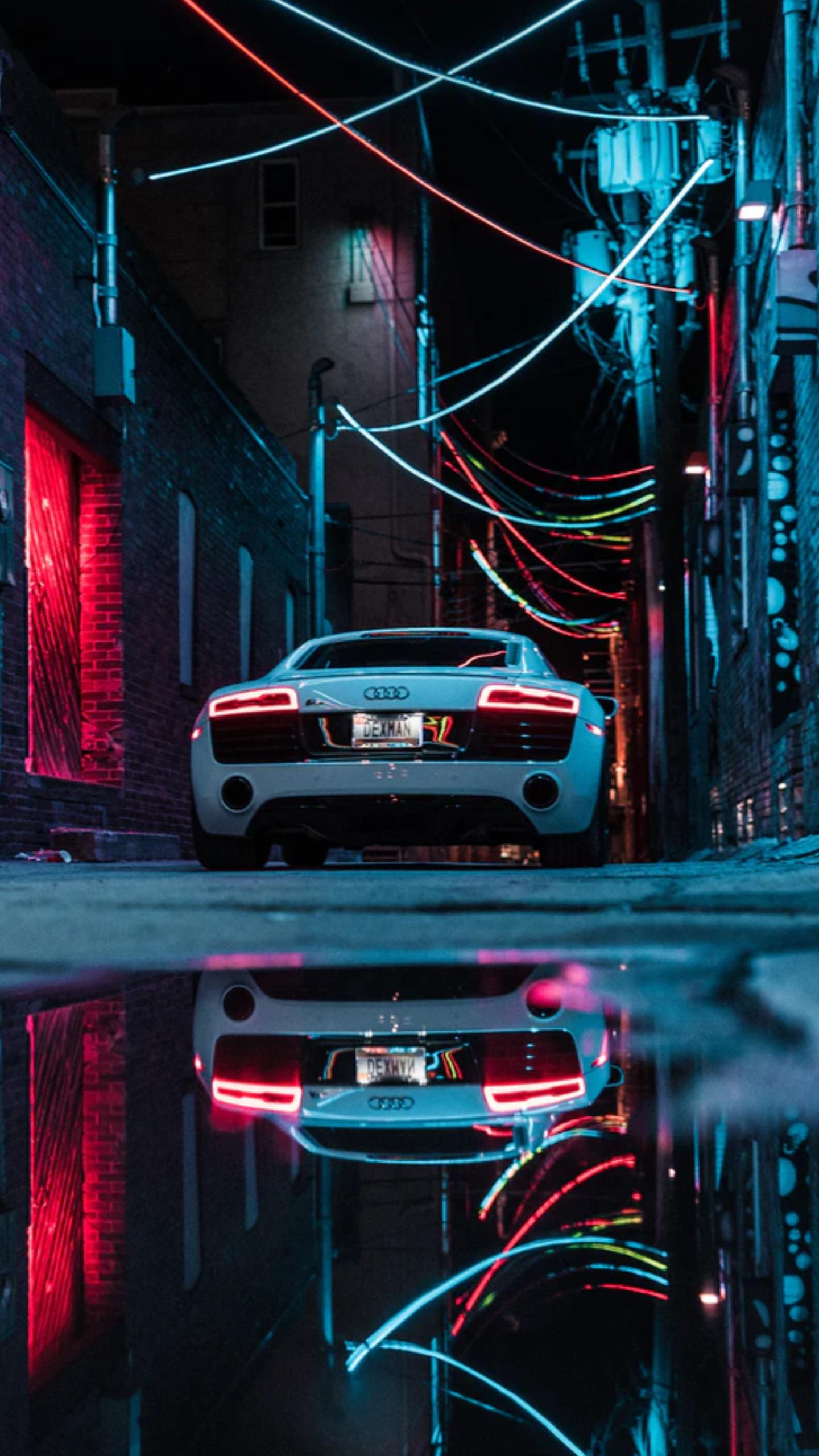 Fondo De Pantalla Audi R8 In 2021 Sports Car Wallpaper Neon Car Audi