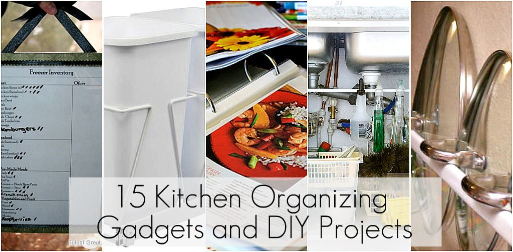 15 gadgets and diy projects to organize the kitchen | DIY organizing on kitchen countertop organizers, kitchen decor, pantry ideas, kitchen tools ideas, kitchen chalkboard ideas, kitchen cabinets, space saver kitchen ideas, kitchen artwork, kitchen paint ideas, kitchen storage, kitchen transformation ideas, kitchen backsplash ideas, decorating ideas, for small kitchens kitchen ideas, kitchen shelves, kitchen design ideas, kitchen safety ideas, kitchen pantry, kitchen diy, kitchen tips,