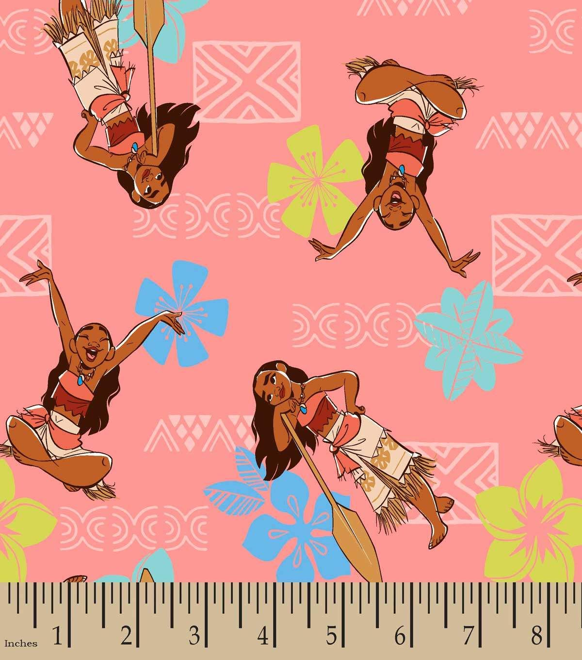 Moana Adventurous Spirit Print Fabric | Fabulous Fabrics | Pinterest
