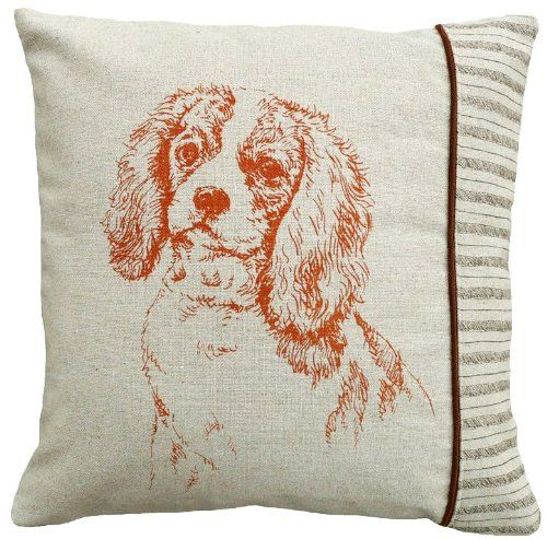 Cavalier King Charles Spaniel Linen Pillow - A Love Of Dogs – For the Love Of Dogs - Shopping for a Cause