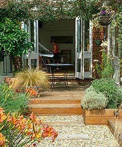 Weekend Wonders Pinterest Low Maintenance Garden Bi Fold Doors