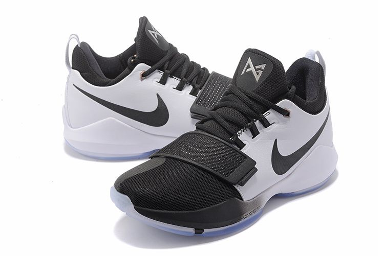 on sale c75e9 2b363 Buy New NIKE PG 1 Paul George Shoes 2018 White Black