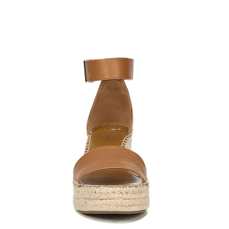 fa1863a190b3 Franco Sarto Women s Clemens Espadrille Wedge Sandals (Tan Leather ...
