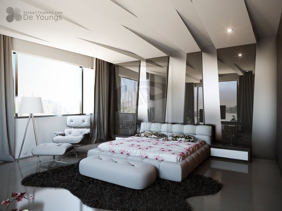 Modern Bedroom with Great Ceiling Design   10 Impressive Bedroom Ceiling  Ideas. Modern Bedroom with Great Ceiling Design   10 Impressive Bedroom