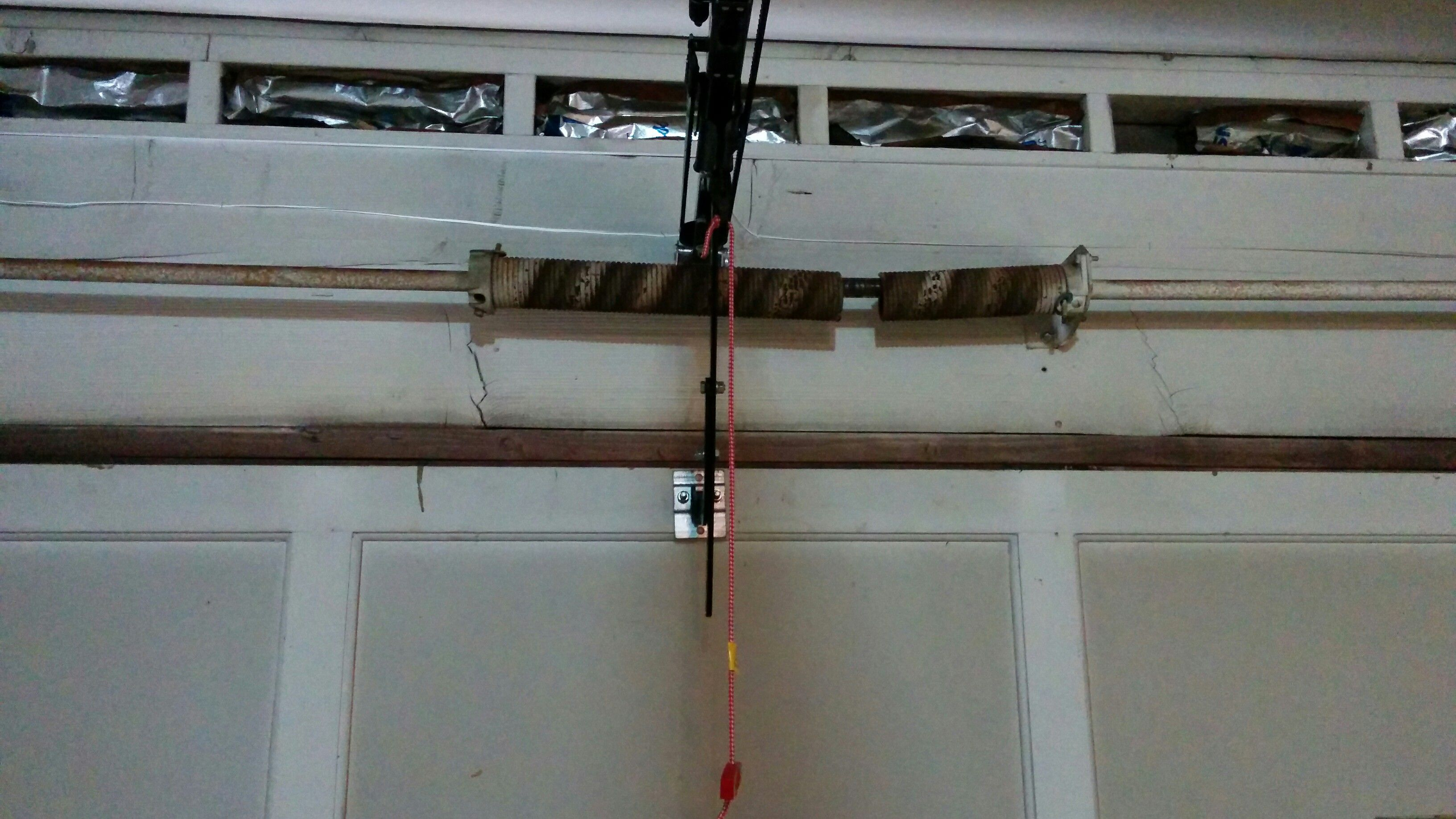 Garage Door Spring Repair Broken garage door spring