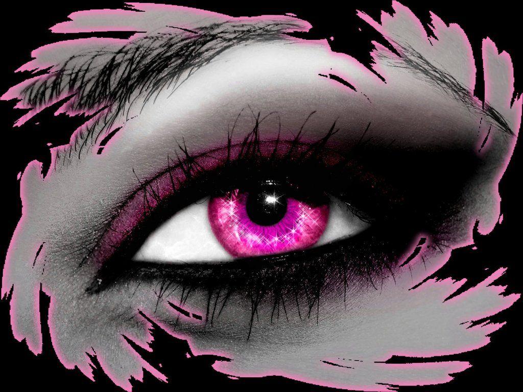 Pink Eyes Wallpaper