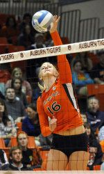 Final Volleyball Road Trip Sends Tigers To Tennessee Alabama Auburn University Athletics Auburn Auburn University Volleyball