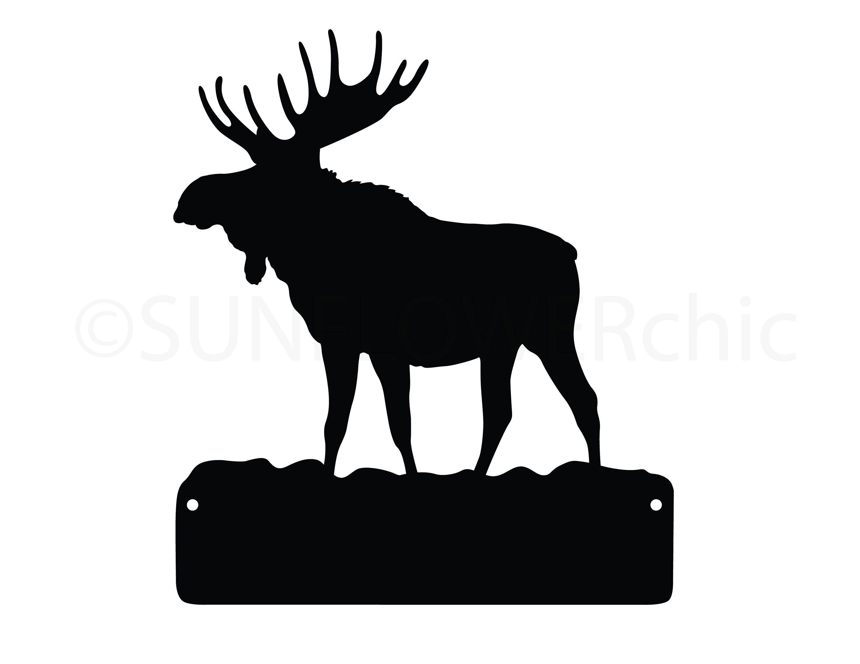 Moose Silhouette Png Clip Art Image Moose Silhouette Silhouette Art Silhouette Png