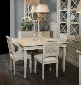 mesa comedor extensible de forma cuadrada o rectangular | Comedor ...