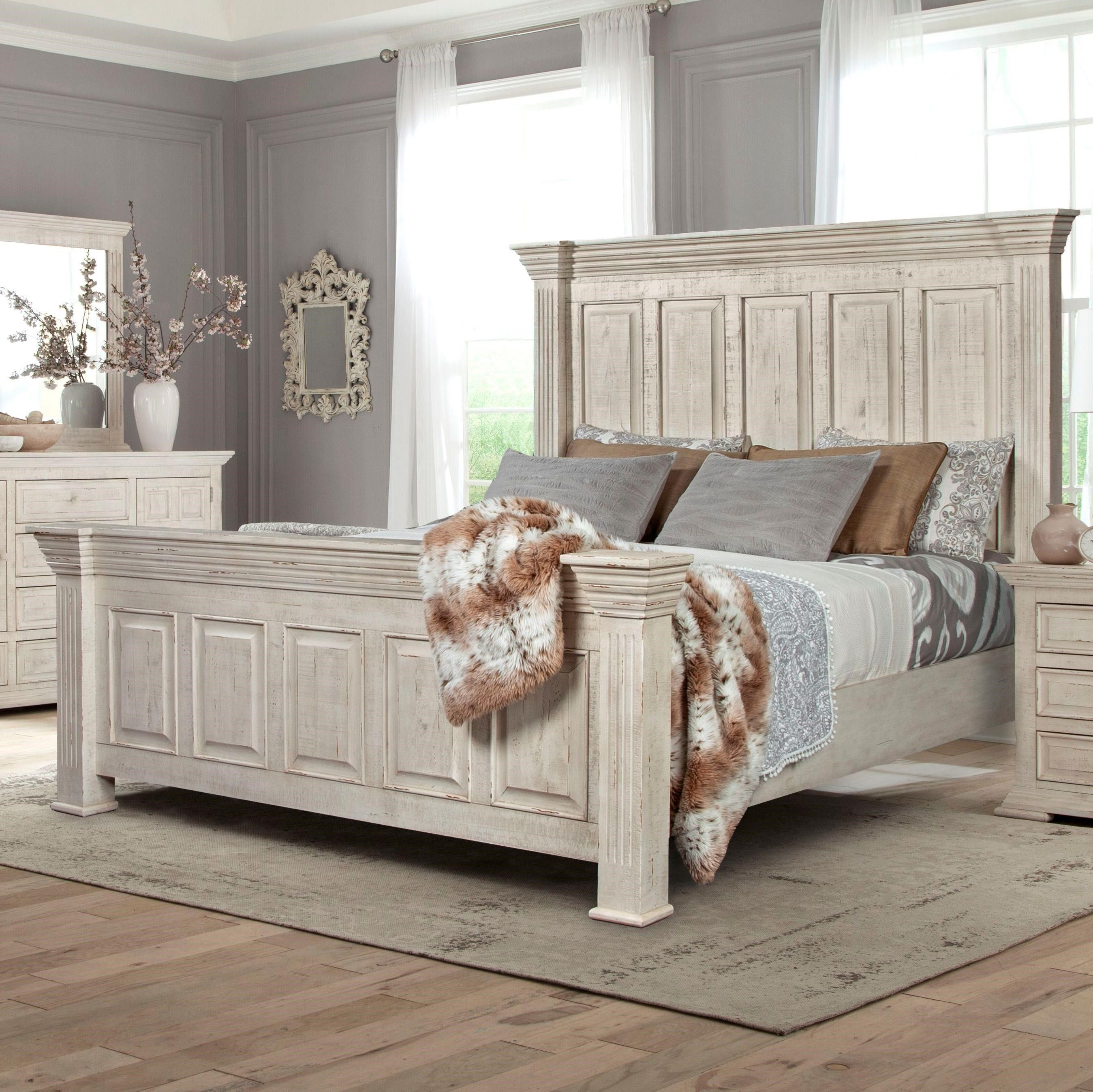 Johnson Queen Mansion Bed By Lifestyle Royal Furniture