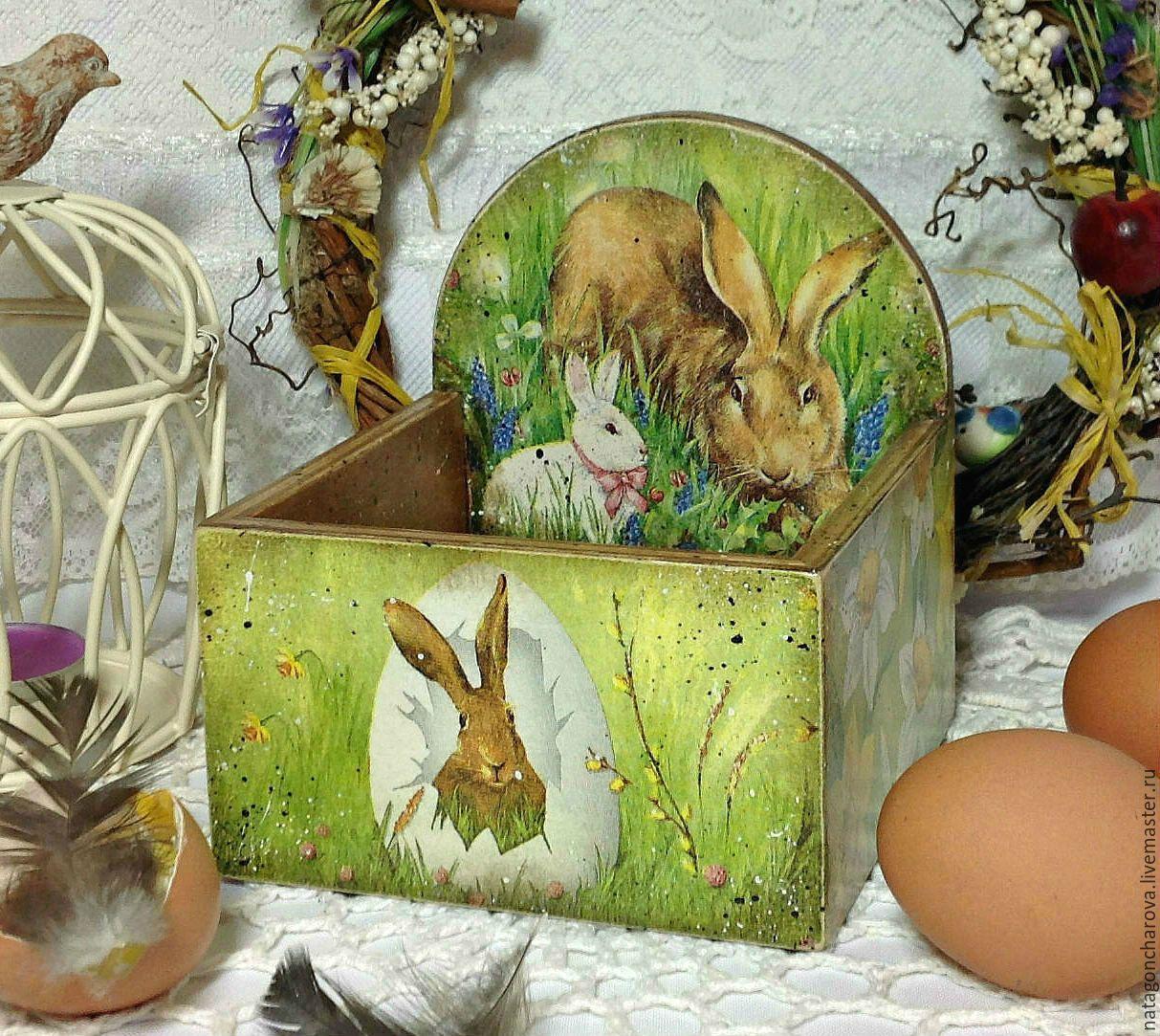 для картинки кроликов на шкатулках бычков