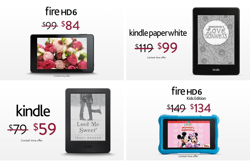 Fire kindle valentines deals presented by