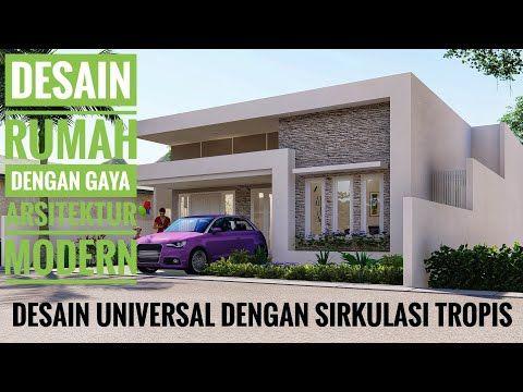 desain rumah modern contemporary (pemilik rumah bpk