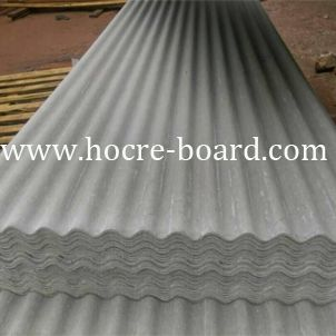 Small Wave Fiber Cement Roof Tile Cemento
