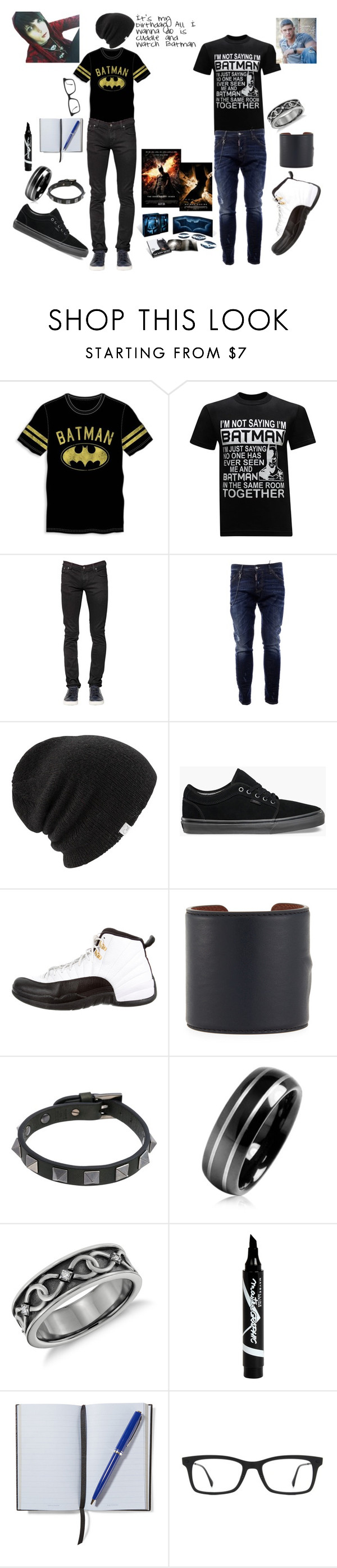 """""""Asher and Abel: What the birthday boy wants… the birthday boy gets!"""" by alishataylor ❤ liked on Polyvore featuring Bioworld, Humör, Nudie Jeans Co., Dsquared2, Coal, Vans, NIKE, Givenchy, Valentino and Bling Jewelry"""