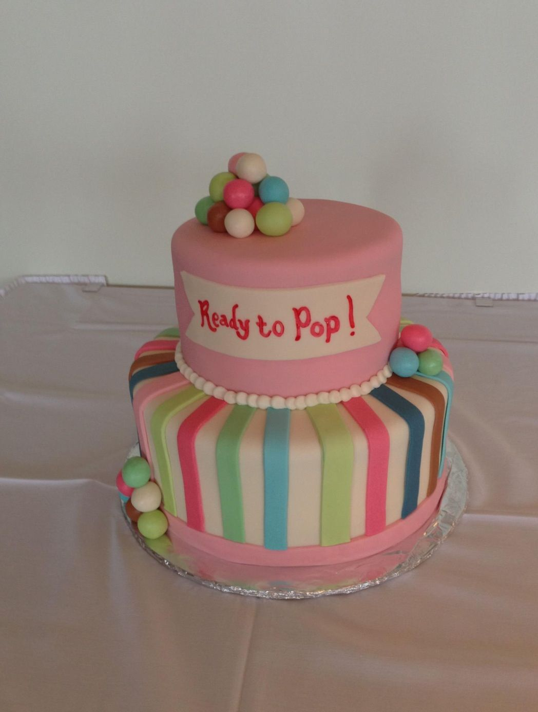 Ready to pop cake.