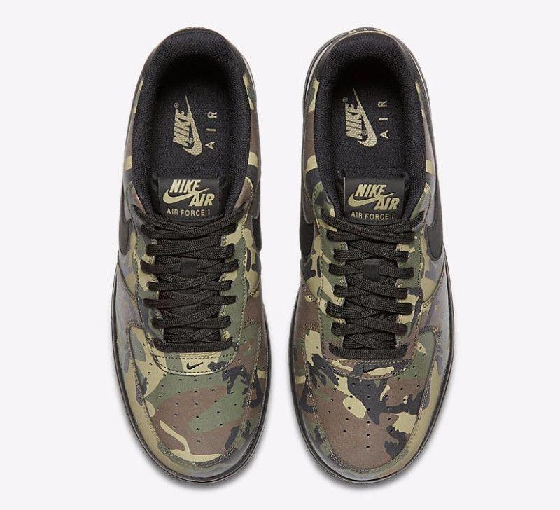 Nike Air Force 1 Reflective Cam Todd Zapatos Nike Zapatillas