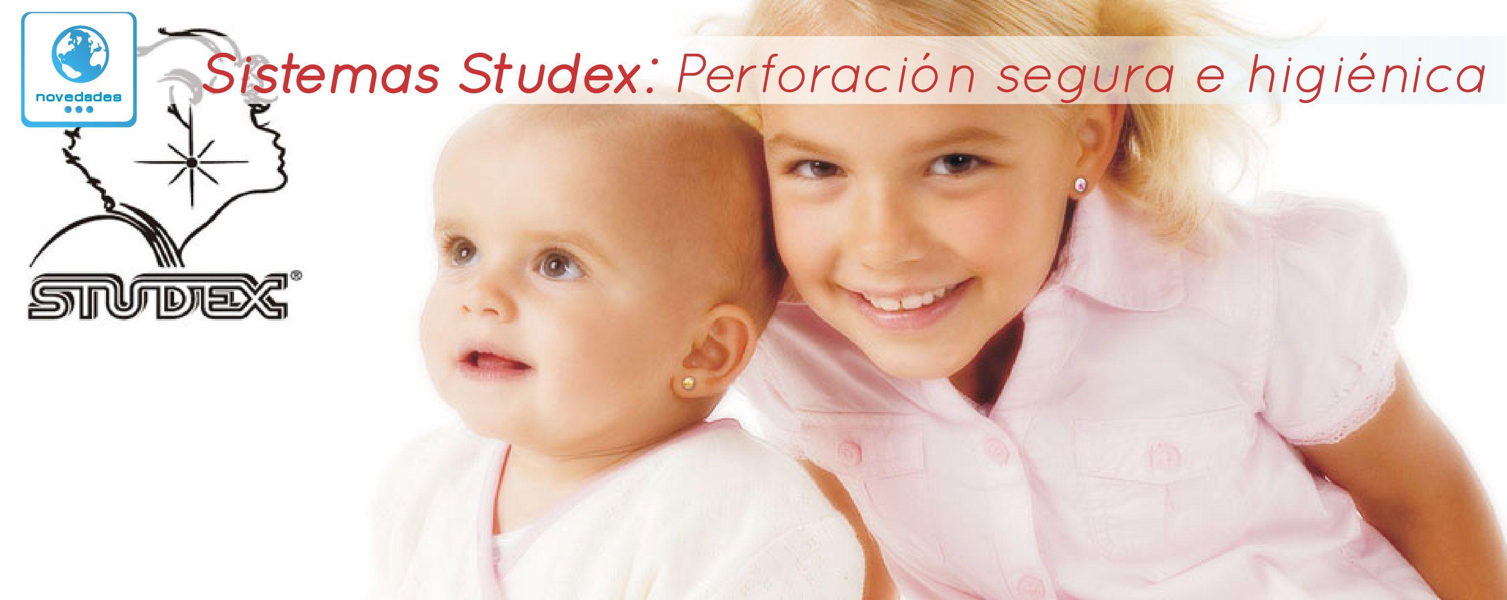 Sistema Perforación Studex Perforación Segura E Higiénica Desde El Mes De Diciembre Contamos En Nuestra Farmacia Co Perforaciones Tendencias De Moda Niños