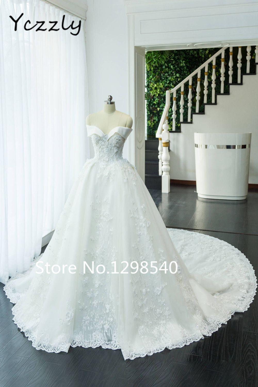 189c17fcc Encontrar Más Vestidos de novia Información acerca de Gorgeous Balón vestido  de Novia Princesa Vestido de