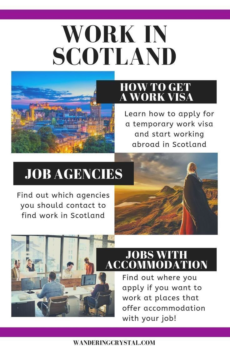 Jobs in Scotland for Foreigners Wandering Crystal
