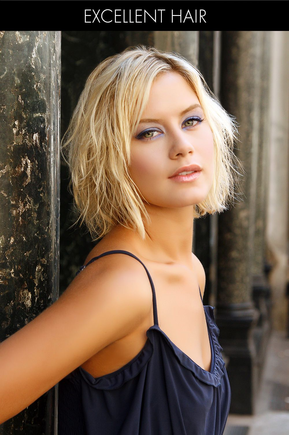 Undone Short Hairstyle For Fine Hair Short Hair  Pixie Cuts - How to style fine thin hair