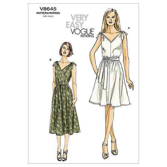 Misses\' Dress and Sash-F5 (16-18-20-22-24) Pattern, , hi-res ...