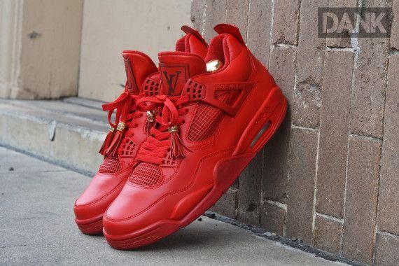 Air Jordan 4 Vêtements De Réplique Doctobre Rouge