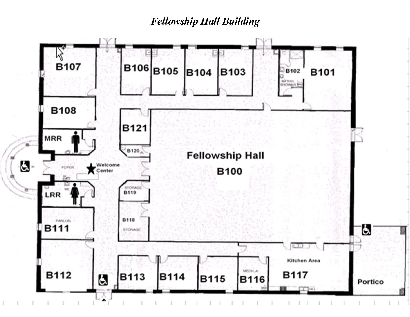 Image Result For Floor Plans Church Fellowship Halls House