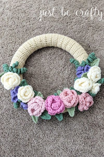 Photo of Crochet spring floral wreath pattern part 2: video tutorials + montage – just be smart