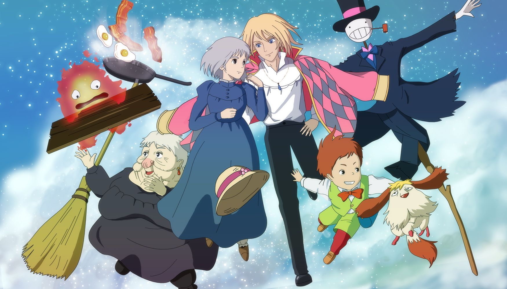 Pin De Sophie Loves Pickles En Studio Ghibli Ã'¹ã'¿ã'¸ã'ªã'¸ãƒ–リ El Castillo Ambulante Howl El Castillo Ambulante Personajes Studio Ghibli
