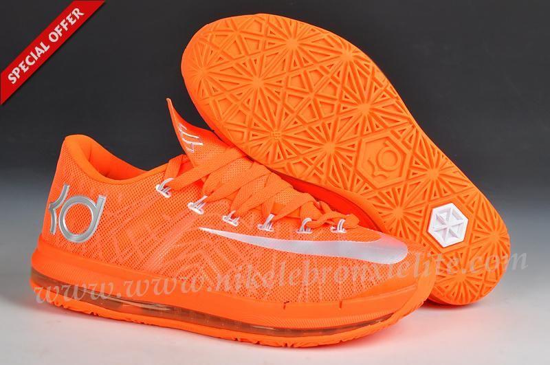 wholesale dealer 38444 f1015 Orange Nike KD VI Elite Sale Online