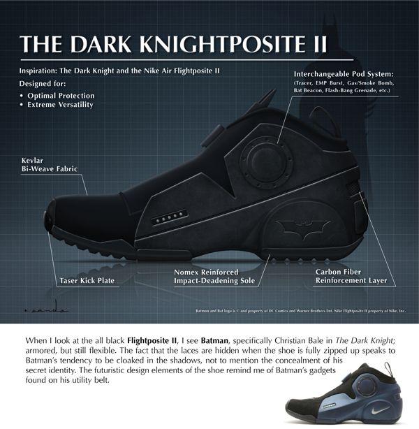 Nike Foamposite II Inspired by the 'Dark Knight' Super | Sneakers by Ryan  Sands
