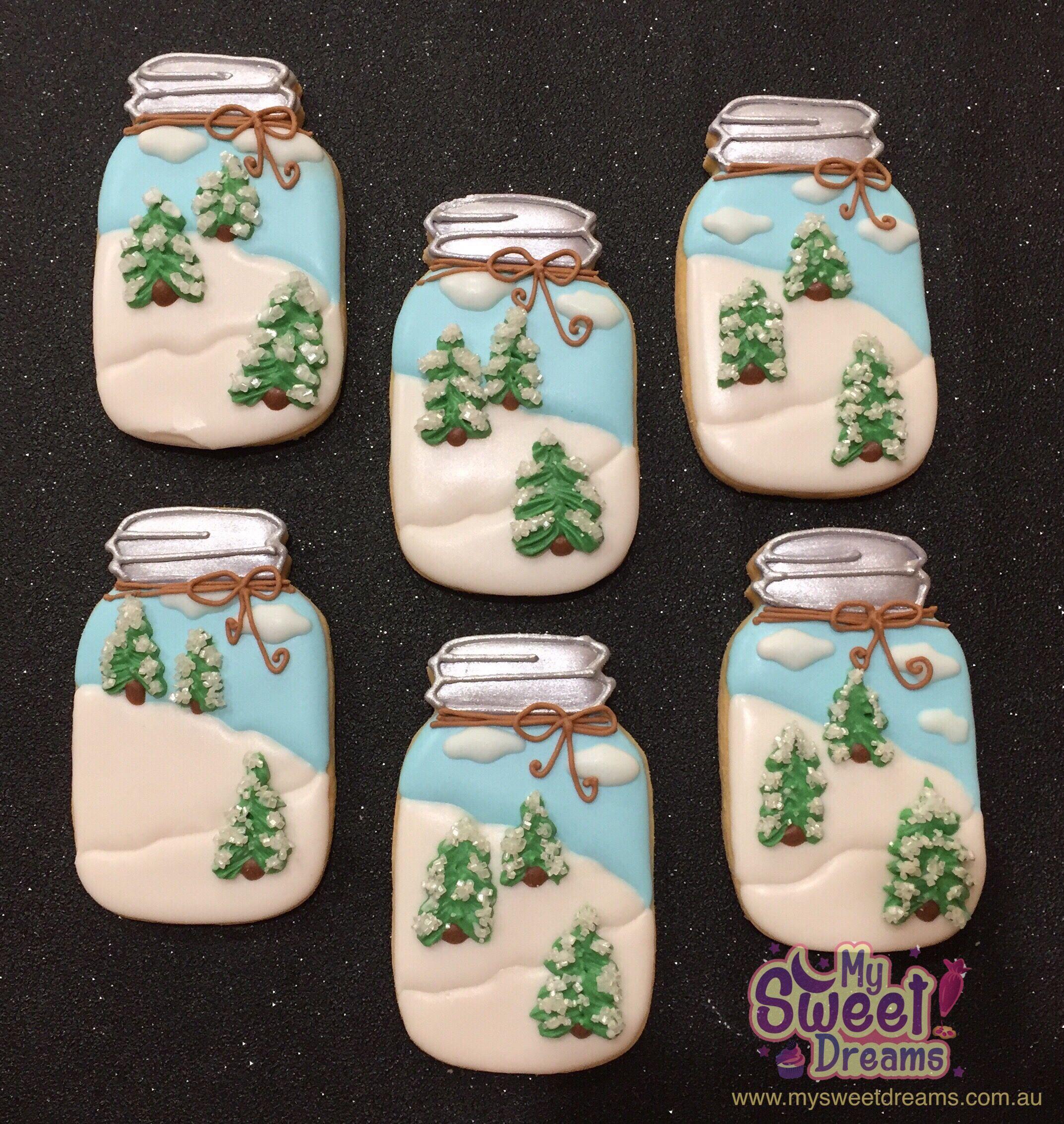 Mason Jar Christmas Sugar Cookies Mason Jar Cookies Mason Jar Cookies Christmas Christmas Jars