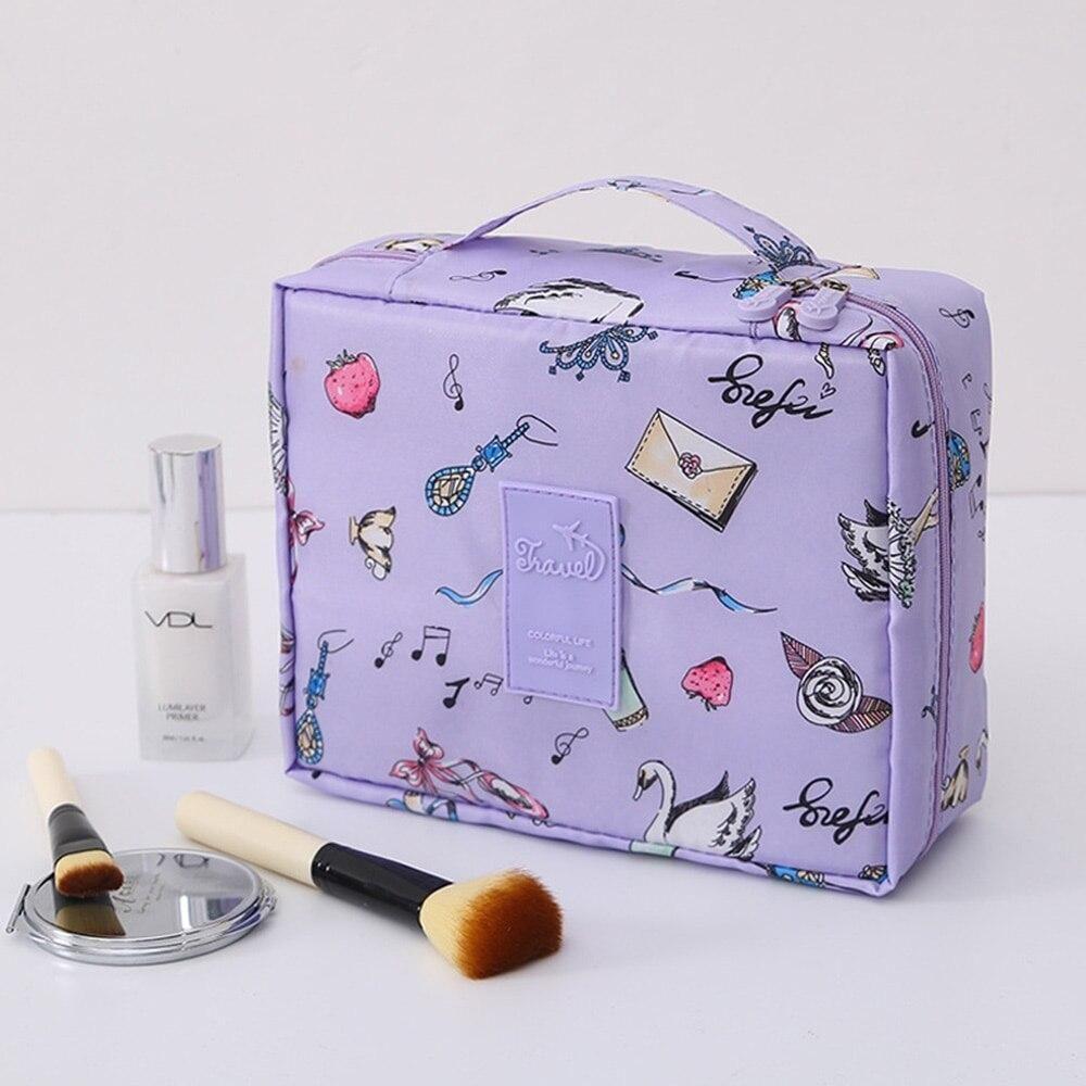 Neue Kosmetiktasche für Frauen, Multifunktions-Make-up-Tasche, Pflegeset, Beauty-Etui, Organizer für Toilettenartikel, Reise-Make-up-Hüllen, Neceser – 3