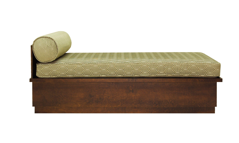 - Ottoman Flat-back Folding Bed Designed By Richard Ward #wawa