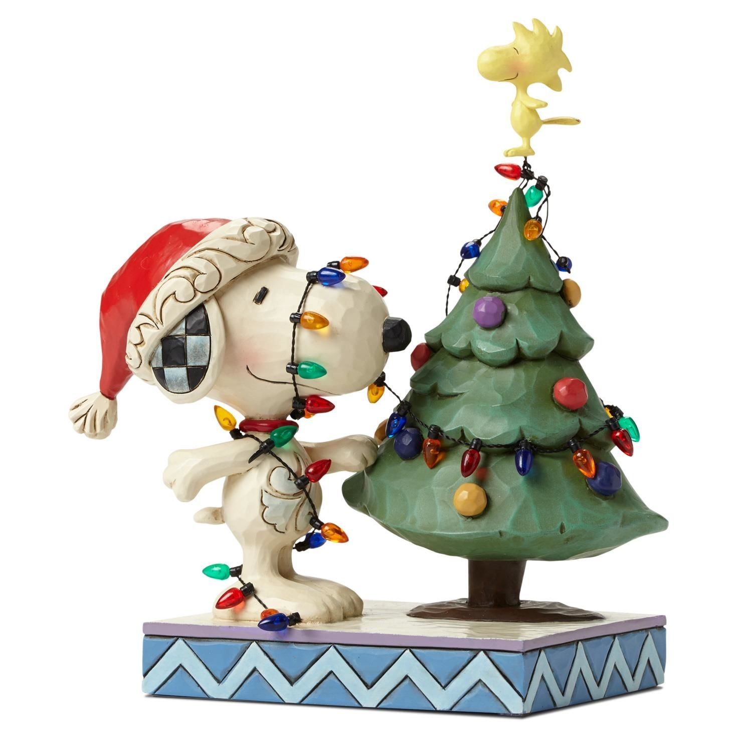 Tangled Up In Christmas Joy Snoopy And Woodstock With Christmas