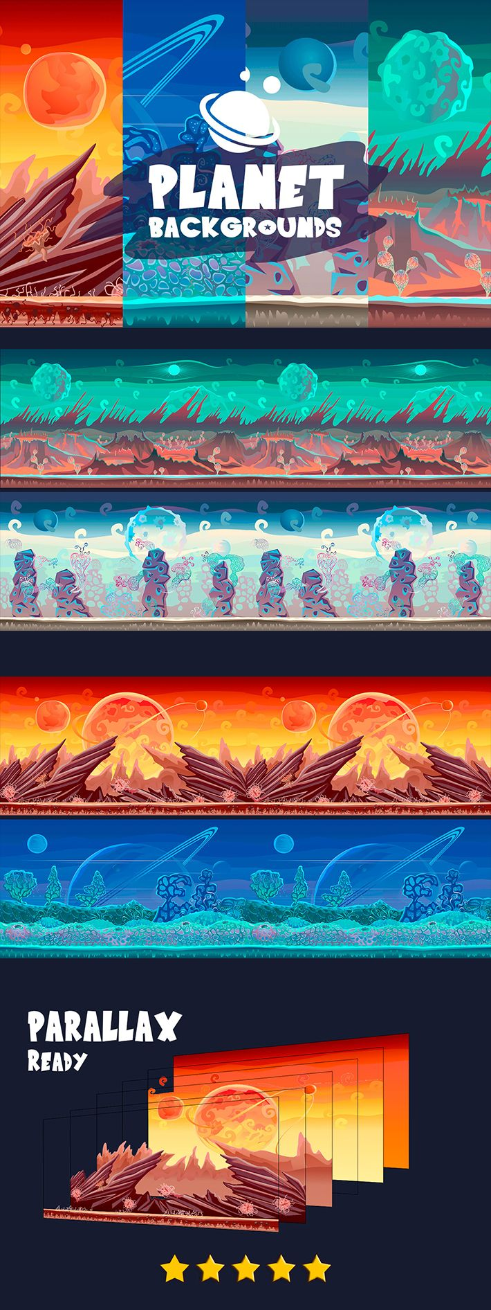 2D Game Backgrounds в 2020 г.